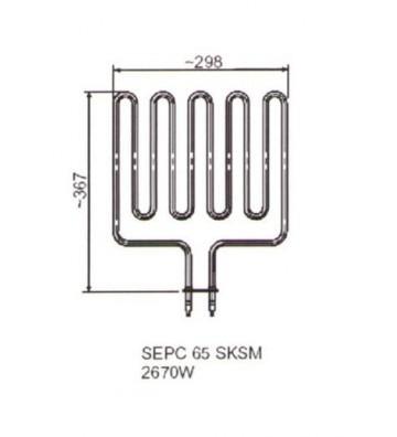 Grzałka SEPC 65 C 3300 W