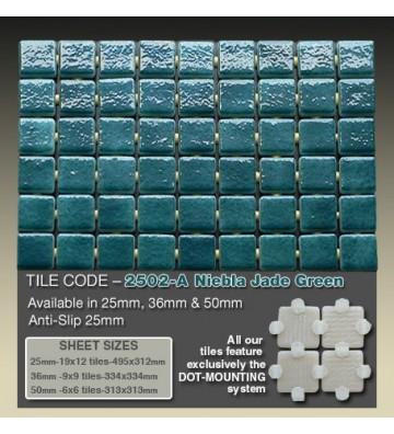 Mozaika Ezarri Niebla Jade...