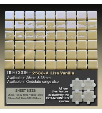 Mozaika Ezarri Lisa Vanilla...