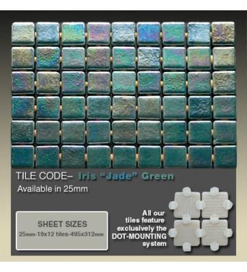 Mozaika Ezarri Iris Jade 2m²