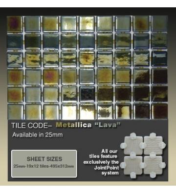 Mozaika Ezarri Metal Lava 2m²