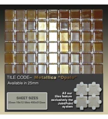 Mozaika Ezarri Metal Opalo 2m²