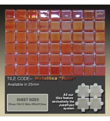 Mozaika Ezarri Metal Rubi 2m²