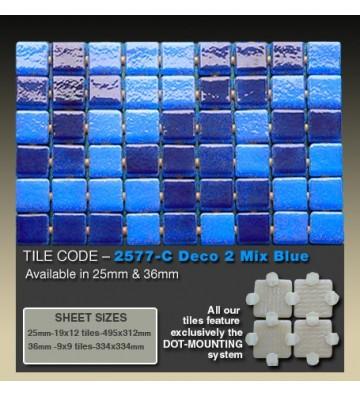 Mozaika Ezarri Mix Blue...
