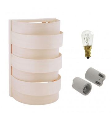 Zestaw - Lampa do sauny - z...