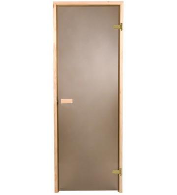 Drzwi do sauny MATOWE 7x19...
