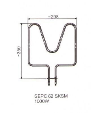 Grzałka SEPC 62 1000 W