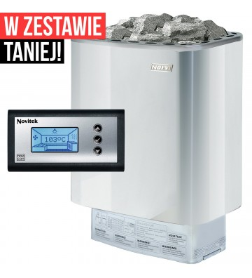 Narvi NME 7,5 kW - piec do...