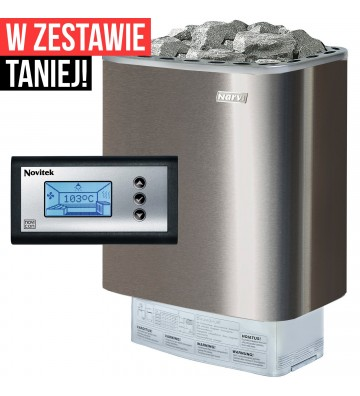 Narvi NME 9 kW - piec do...