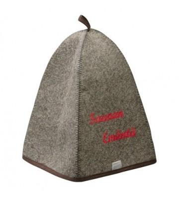 Czapka saunowa - filc, bawełna