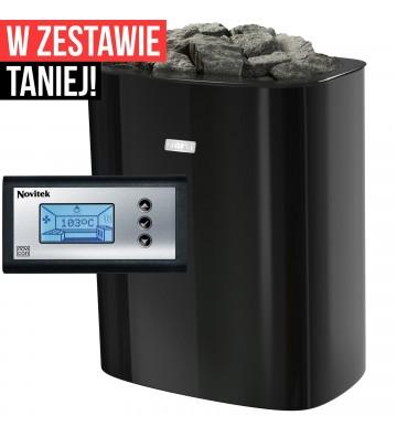 Narvi NCE 9,0 kW - czarny -...