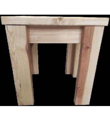 Stołek do sauny świerkowy