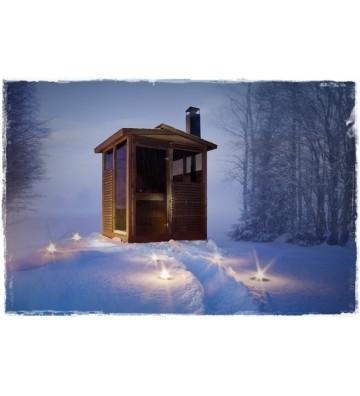 Kabina saunowa z piecem...